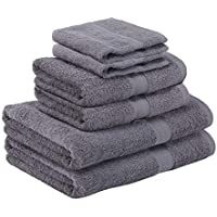 Homegear Egyptian Style Cotton Bath Towel Bale 6 Piece Set
