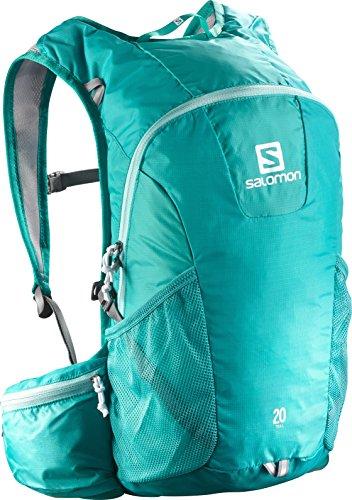 Salomon Trail 20 - Mochila para running/montañismo unisex, 20L, 48x24x15 cm, aguamarina