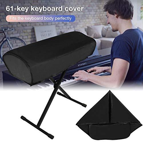 SinceY Keyboard-Cover für Keyboards mit 61 Tasten Abdeckhaube Elektronische Klavier Tastatur Staubschutz Abdeckung (Nur Keyboard-Cover)