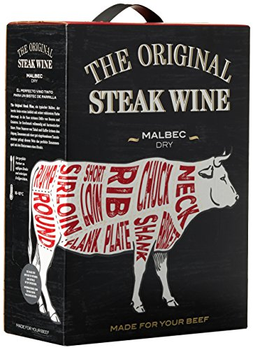 The Original Steak Wine Malbec 2015/2016 Trocken (1 x 3 l)