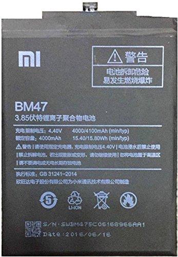 Xiaomi MI Redmi 3S 100% Original Battery With 6 Months Replacement Warranty