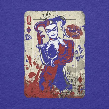 Texlab–Harley Queen–sacchetto di stoffa Marine