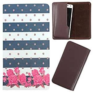 DooDa - For LG Optimus L9 (P765) PU Leather Designer Fashionable Fancy Case Cover Pouch With Smooth Inner Velvet