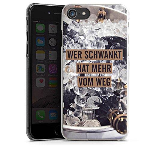 Apple iPhone X Silikon Hülle Case Schutzhülle Party Feiern Sprüche Hard Case transparent