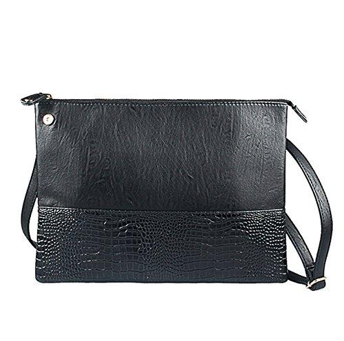spalla-borsone-file-pacco-stile-semplice-pelle-di-coccodrillo-imitazione-uomo-nero