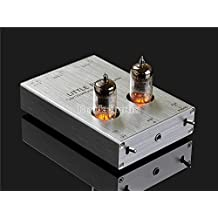 nobsound Little Bear T7 6j1 vacío Tubo Mini Phono Stage Preamp; RIAA mm Tocadiscos preamplificador; Hi-Fi Stereo Tube preamplificador (Plata)