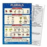 Plurals Primary School Resources - Plantillas de actividades laminadas (A3, 5 unidades)