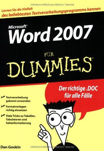 Word 2007 für Dummies