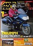 MOTO REVUE [No 3215] du 11/01/1996 - CADALORA - 12 ESSAI - TRIUMPH 1200 TROPHY GT OR...
