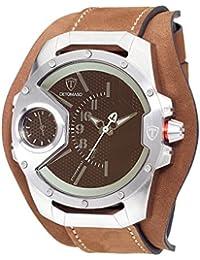 DETOMASO Herren-Armbanduhr STEPPENWOLF Analog Quarz DT-YG104-E