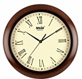 Sinar SQ-8327 Wooden Wall Clock(Size: 28...