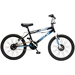 Flite Punisher FL020 - Bicileta BMX, 7 a 14 Years, color negro