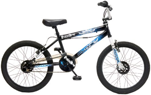 Flite Punisher Kids' Freestyle Bike Black/Multicolour, 20 inch steel frame, 1 speed 360 degrees rotor-head (giro) steel bmx bars with cross-brace