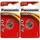 Panasonic 1632CR16322Stück Batterien Lithium 3V