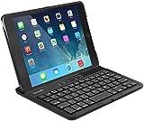 iPad Mini 4 Bluetooth Keyboard, TeckNet Ultra-Thin iPad Mini 4 Bluetooth Wireless Keyboard Cover (UK Layout) with Built-in Adjustable Stand Groove For Apple iPad Mini 4
