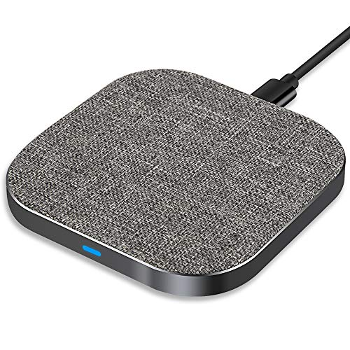 Yarrashop Fast Wireless Charger Kabelloses Laden Qi drahtloses ladegeraet für Samsung Galaxy Note 8 S10 S9 S8+ iPhone 11/ XS MAX/XR/XS/X/8/8 Plus,Huiwei,xiaomi und Alle Qi Geräte
