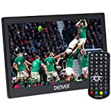 """Denver LED-1031 10"""" Small Portable TV with Freeview 