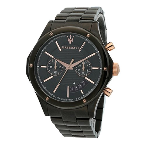 MASERATI Mens Chronograph Quartz Watch with Stainless Steel Strap R8873627001