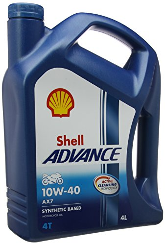 ROYAL DUTCH SHELL LUBRICANTES 550044457 SHELL ADVANCE 4T  10 W-40  4 LITROS