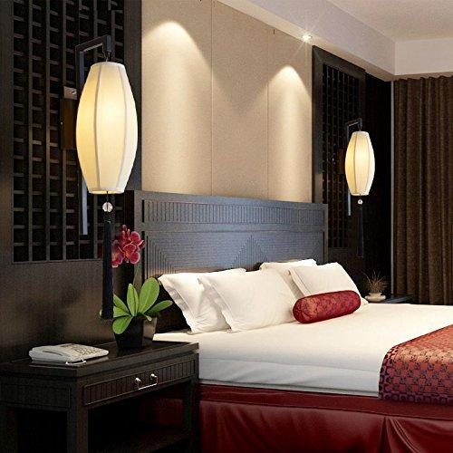 il nuovo stile cinese Soggiorno Camera da Letto Comodino Lampada da parete Lampada da parete a Led decorativi creativa in ferro battuto lampade del