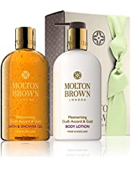 Molton Brown Accord Et Douche D'Or Et Gel Lotion Cadeau Oudh