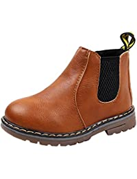 5d1ee39b0f1d HUHU833 Children Fashion Boys Girls Martin Sneaker Boots Kids Casual Shoes