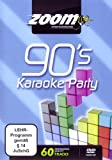 Zoom Karaoke DVD - Nineties Karaoke Party (90's) - 60 Songs