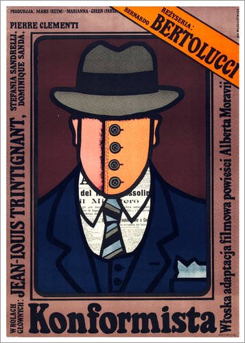 Posterlounge Leinwandbild 50 x 70 cm: Der Grosse Irrtum von Everett Collection - fertiges Wandbild, Bild auf Keilrahmen, Fertigbild auf echter Leinwand, Leinwanddruck (1970er-taste)