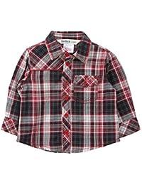 Yarn Dyed Check Shirt Red Check