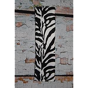 Auto Gurtpolster für Kinder und Erwachsene Kunstfellimitat Zebra