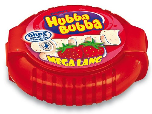 What are the ingredients in Hubba Bubba?