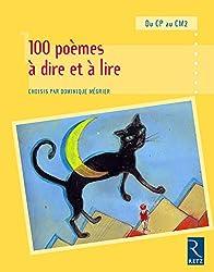 100 poèmes à dire et à lire