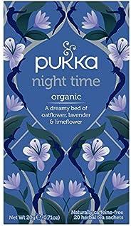 Pukka Night Time, Organic Herbal Tea with Lavender, 20 Tea Bags