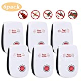 VEGKEY Ultrasonic Pest Repeller, 6 pack Electronic Plug In, Mouse and Rat Repeller