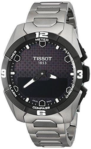 Tissot Homme Swiss décontracté montre à quartz Titane (modèle: T0914204405100)