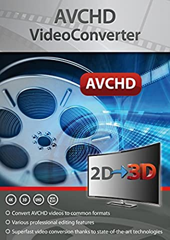 AVCHD Video Converter: Edit and Convert Files from over 50 Formats into any Video or Audio format - great program to support video cutting - For Windows 10 / 8.1 / 8 /