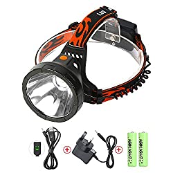 Led Head Torch Usb Rechargeable, Neolight Waterproof Cree Headlamp Headlight For Camping Fishing Walking Hunting Cycling Mining Caving