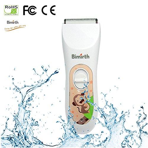 Rasoio per capelli per bambini e neonati, impermeabile ultra-quiet USB ricaricabile professionale capelli di tagli per bambini