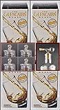 4 Whisky The Glencairn Glass Crystal im Original Geschenk Karton mit 4 Glas-Knopfdeckel & 1 Flaschenportionierer