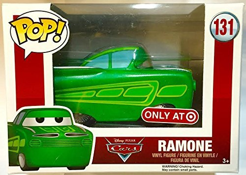 Funko - Figurine Disney Cars - Green Ramone Exclu Pop 10cm - 0849803062682