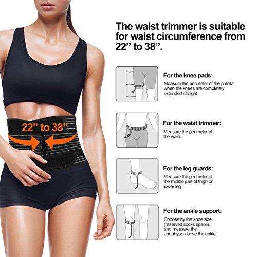 Zoom IMG-3 enkeeo fascia addominale traspirante dimagrante