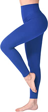 SINOPHANT - Leggings sportivi da donna con vita alta, elasticizzati, opachi, con controllo pancia, grandi dimensioni, per allenamento, ginnastica, yoga