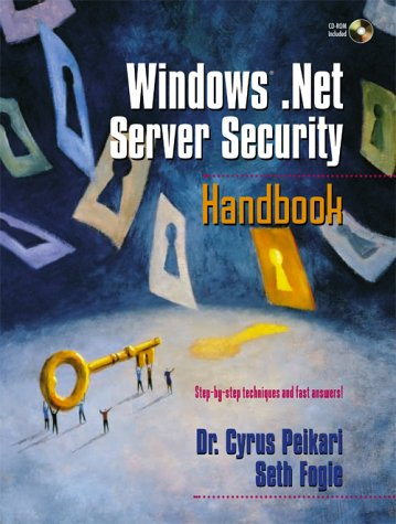 Windows .Net Server Security Handbook, w. CD-ROM