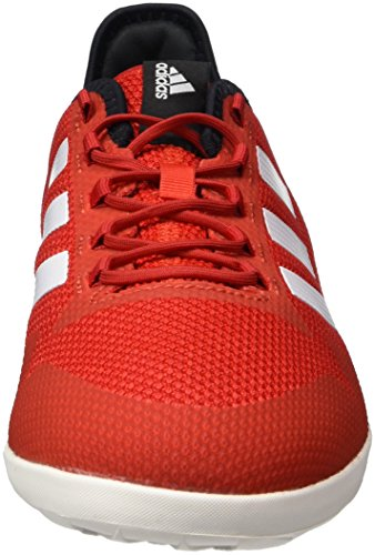 adidas Ace Tango 17.2 In, Chaussures de Futsal Homme Rouge (Red/ftwr White/core Black)