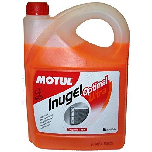 Motul 101070 additifs Refroidissement Inugel Optimal Ultra, 5 l