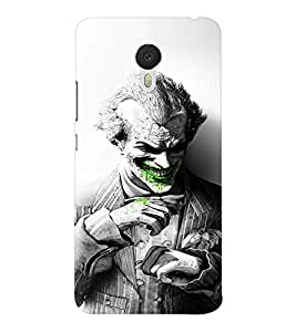 EPICCASE Joker Laugh BW Mobile Back Case Cover For Meizu M3 Note (Designer Case)