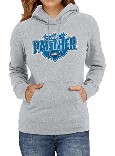 anther #8 Premium Hoodie Superbowl American Football Play Offs Frauen Kapuzenpullover, Farbe:Graumeliert;Größe:L ()