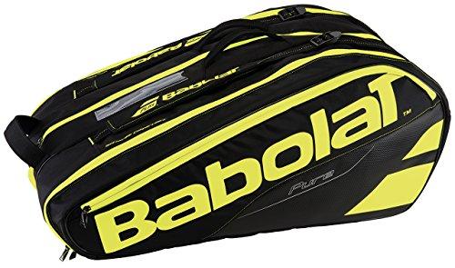 6d7b55a6d Babolat Rh X 12 Pure Fundas para Raquetas de Tenis, Unisex Adulto, Negro /
