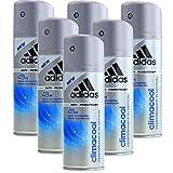 6* Adidas Deospray Deo Bodyspray 150ml Climacool...