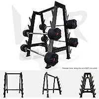 Preisvergleich für We R Sports Hex Barbell Bar Storage Rack Stand Holds 10 Bars Gym Weight Rack